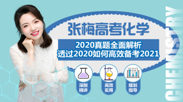 【张梅高考化学】2020高考真题解析与2021高考逆袭提分规划训练