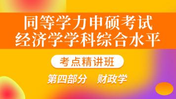 同等学力申硕《经济学综合水平考试》考点精讲  ④财政学