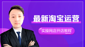 新版淘宝天猫网店运营实操教学零基础新手开店入门引流课程