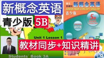【精品课】新概念英语青少版(5B)教材同步+知识精讲