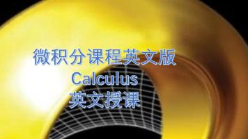 微积分英文版数学课程calculus国际课程