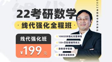 2022考研数学-汤家凤线代强化课程【完整版】-文都考研