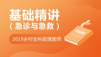 2019乡村助理医师基础精讲:急诊与急救