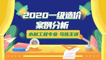 2020年一级造价水利案例分析马烁主讲基础精讲班