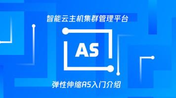 智能云主机集群管理平台 - 弹性伸缩AS入门介绍