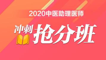 2020年中医助理医师-冲刺抢分班