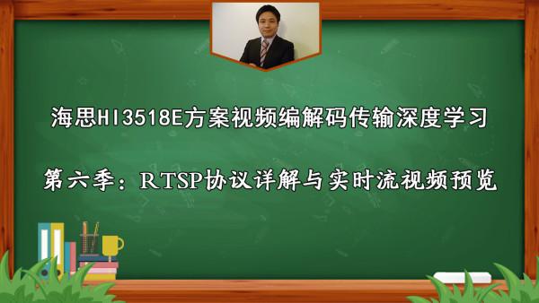 海思第6季:RTSP协议详解与实时流视频预览