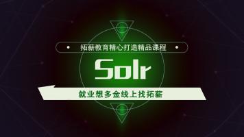 Solr搜索引擎技术/分布式/高并发/高可用/高负载/互联网技术