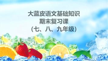2019年语文基础知识期末复习课(每日一练第二季)
