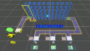 小型智能物流中心设计与优化