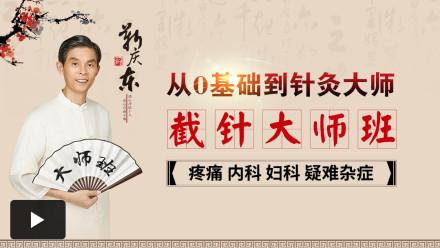 [靳氏截针]中医针灸培训-中医针灸大师速成【大师班】