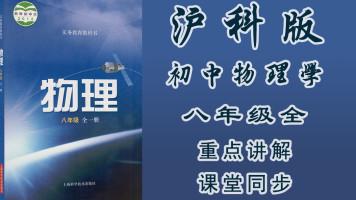沪科版八年级初中物理(全册)同步教学