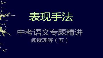 初中语文阅读基础之表现手法与写作特色