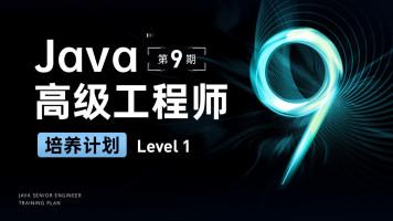 Java高级工程师培养计划 第九期 LevelOne