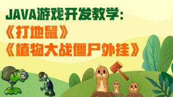 Java项目实战之游戏开发【打地鼠】【植物大战僵尸外挂开发】