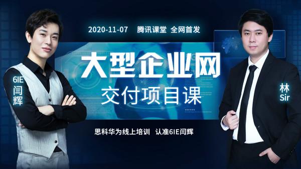 【6IE闫辉】大型企业网交付项目课