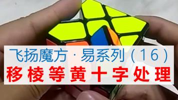 移棱魔方黄十字特殊情况处理【飞扬魔方·易系列】