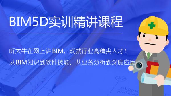 广联达BIM5D实训精讲课程(前两节可试听)