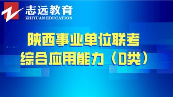 2018年综合应用能力(D类)——陕西事业单位联考