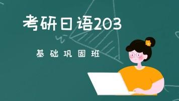 考研日语203基础巩固班