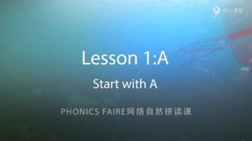Phonics Faire―Lesson 1《start with A》