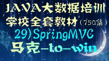 Java大数据培训学校全套教材-29)SpringMVC入门视频教程