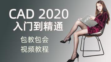 CAD 2020视频教程 入门到精通 autocad cad教程 新版本 0基础讲解