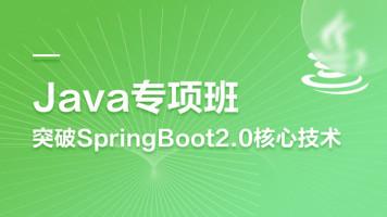 Java进阶教程-突破SpingBoot2.0核心技术项目实战(送配套源码)