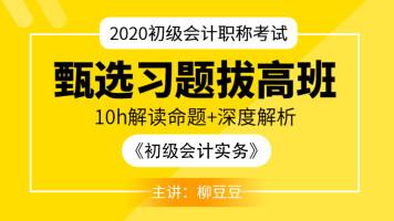 2020初级会计《初级会计实务》甄选习题拔高班