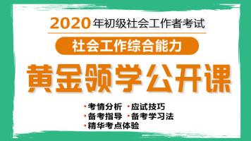 2020年初级社会工作者入门导学课 社会工作能力