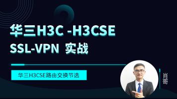 华三H3C-H3CSE 实战 SSL-VPN
