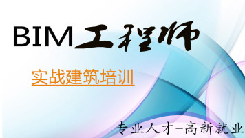 工程项目BIM实施应用研修班