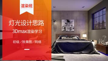 家装场景Vray灯光设计思路-室内设计3dmax效果图表现Vr渲染材质