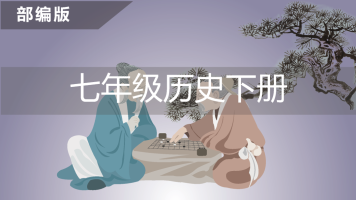 七年级历史下册(部编版)