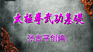 张吉平太极拳武功基础-仁和太极技击-功夫实战-武术基本功
