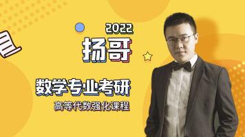 扬哥2022考研高等代数强化课程
