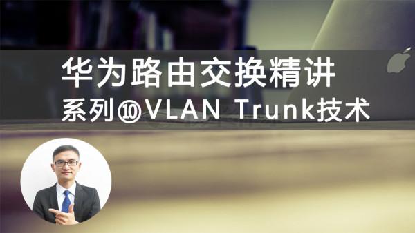 华为HCIA/HCNA路由交换精讲系列10VLAN Trunk技术视频课程[肖哥]