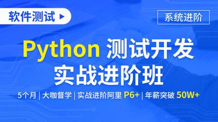 软件测试/Python 测试开发实战进阶班