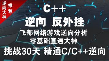 飞郁游戏逆向零基础到大神(C++、逆向、反外挂、游戏编程)