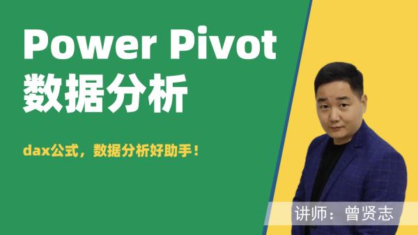 Power Pivot For Excel商业智能数据分析(dax公式)