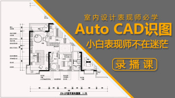 【平鼎堂教育】室内设计CAD识图录播课程【小白专用】