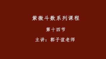 郭子谊讲紫微斗数系列课程【14】