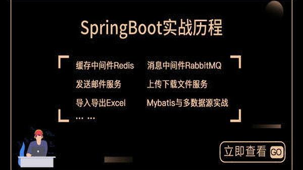 Spring Boot实战~从菜鸟到小牛