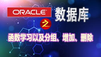 Oracle数据库|oracle的函数学习、分组以及增删改【尚学堂】