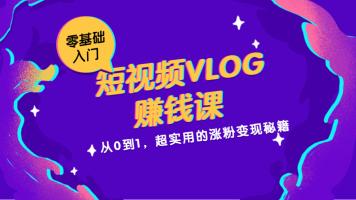 小白速成《短视频VLOG赚钱课》:轻松打造爆款VLOG视频
