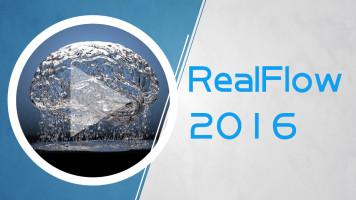 高级影视特效软件RealFlow 2016