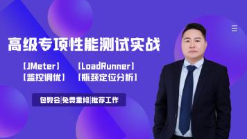 高级性能测试/性能监控与调优/JMeter/LoadRunner/软件测试/压测