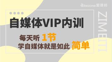 自媒体运营新媒体内容创作VIP内训第二期