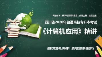 2020年四川省计算机应用专升本考试精讲