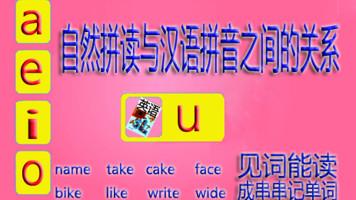 第一节 自然拼读与汉语拼音之间的关系(适合4-8年级学生)